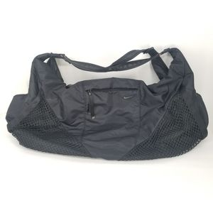 Nike Victory Gym Tote Carry All Yoga Workout Black